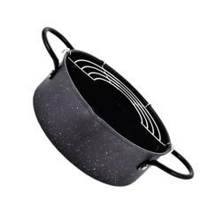 1PC Frying Pot Frying Pan Small Fryer Tempura Chicken with Filter for Home